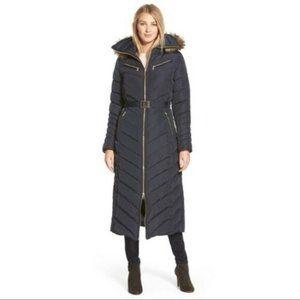Michael Kors Maxi Long Puffer Coat Black SZ 3X